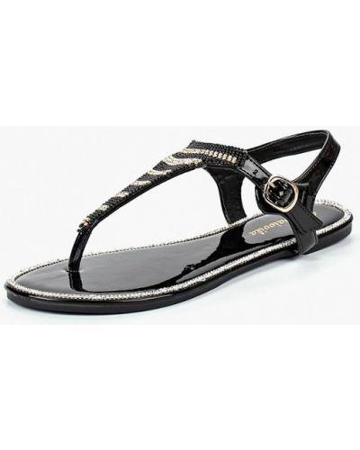 Черные сандалии Saivvila