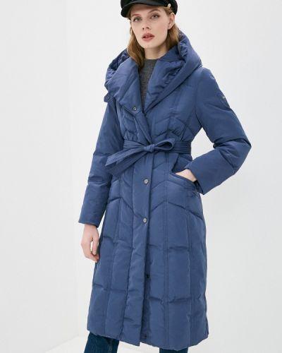 Утепленная синяя куртка Dixi Coat
