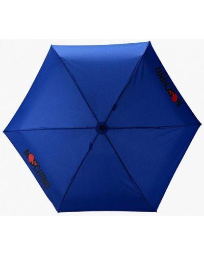 Синий зонт Moschino