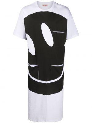 Koszula krótkie z krótkim rękawem prosto długa Raf Simons