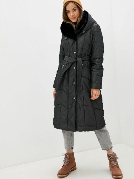 Утепленная куртка демисезонная черная Dixi Coat