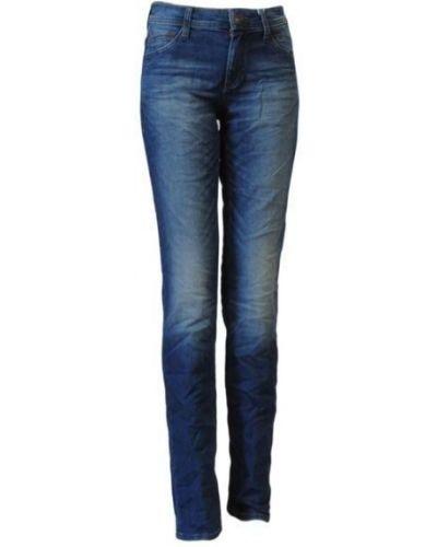 Синие джинсы на молнии S.oliver