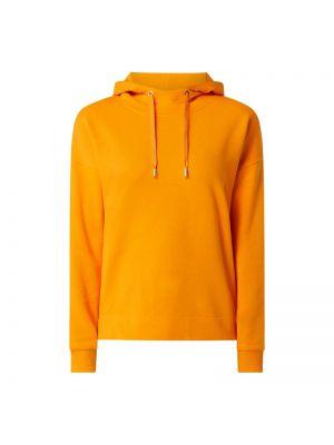 Pomarańczowa bluza z kapturem bawełniana Windsor