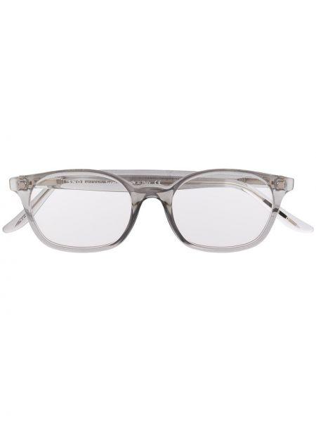Okulary srebrne khaki Snob