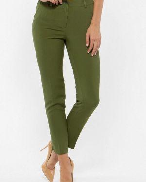 Классические брюки зеленый Vladi Collection