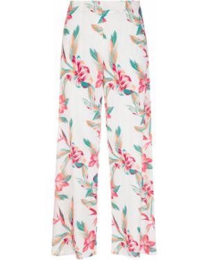 Пляжные свободные брюки свободного кроя с высокой посадкой из вискозы Roxy