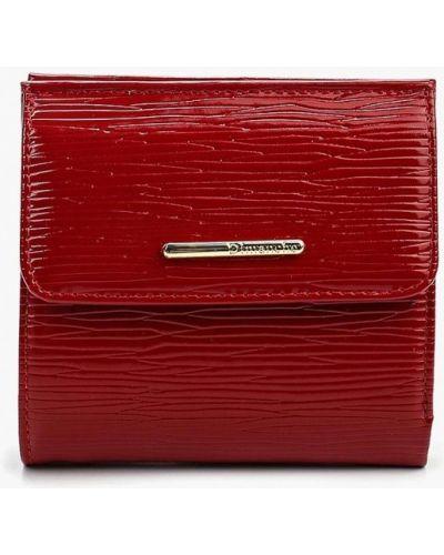 Красный кошелек лаковый Dimanche