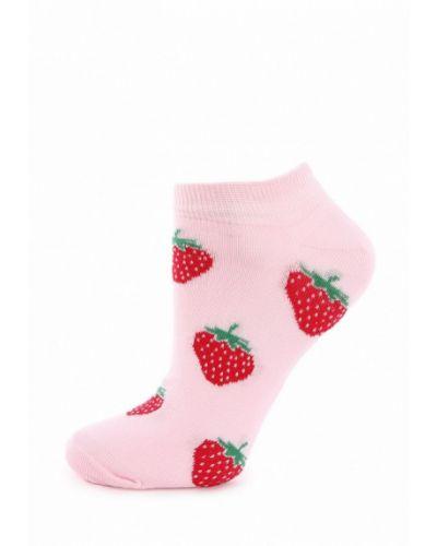 Носки розовый Clew