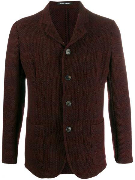 Długa kurtka z guzikami kurtka Emporio Armani