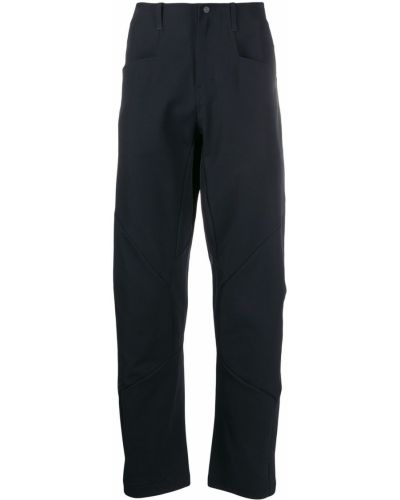 Прямые брюки с поясом новогодние Mammut Delta X