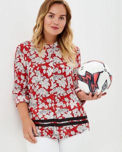 Красная блузка осенняя Violeta By Mango