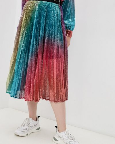 Разноцветная юбка Marco Bologna