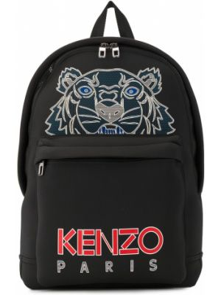 Czarny sport plecak z nylonu Kenzo