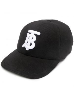 Baseball bawełna bawełna czarny czapka baseballowa Burberry
