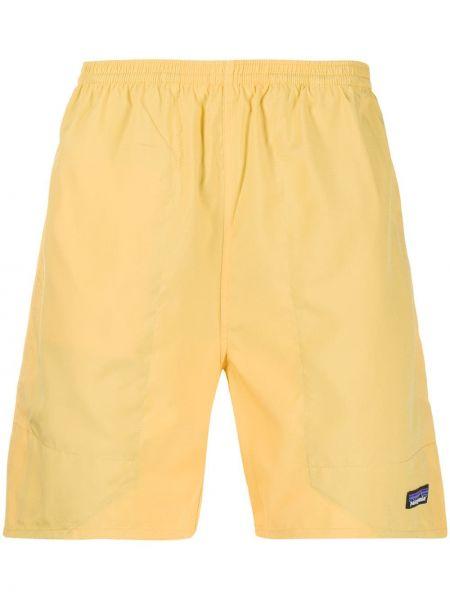 Желтые шорты для плаванья на резинке свободного кроя Patagonia