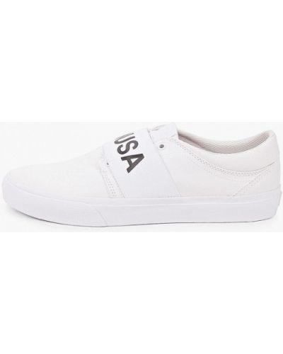 Текстильные белые слипоны Dc Shoes