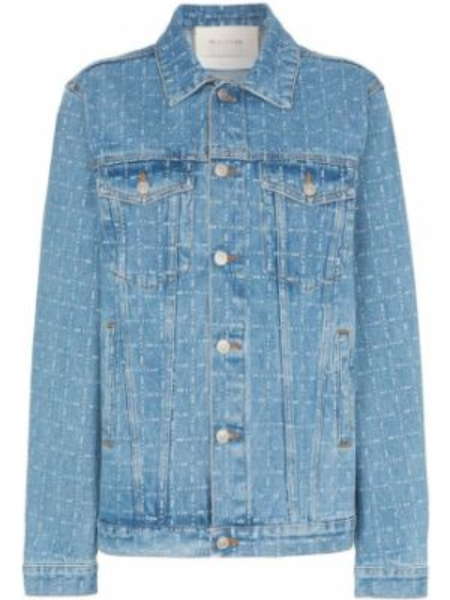 Синяя джинсовая куртка на пуговицах 1017 Alyx 9sm