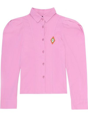 Różowa koszula bawełniana The Animals Observatory