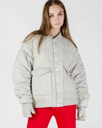 Утепленная куртка - серая Kriza