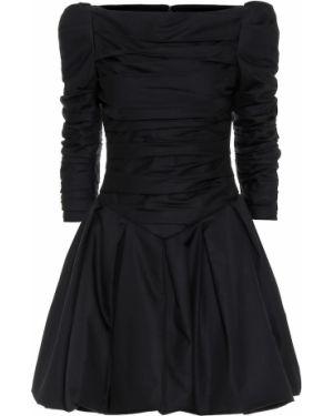 Платье мини модерн черное Khaite