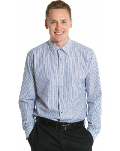 Серая рубашка Lagerfeld