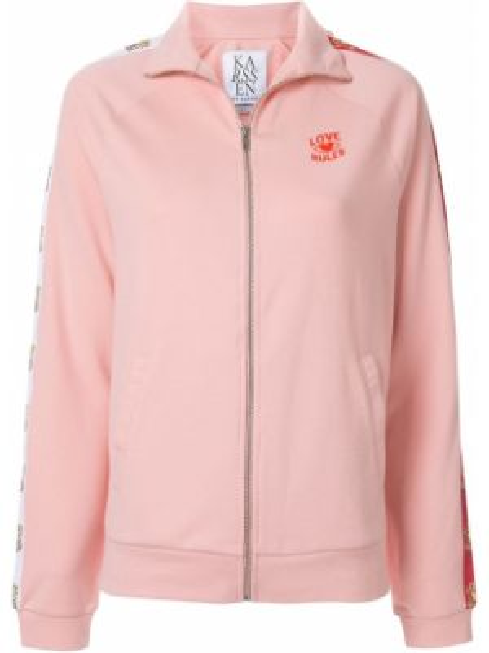 Розовая куртка с манжетами Zoe Karssen