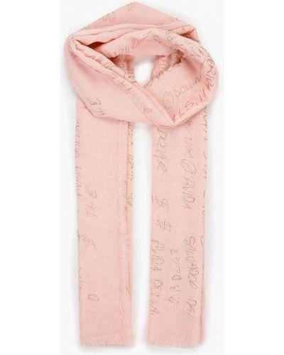 Розовый шарф Modis