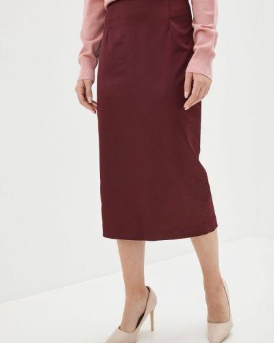 Красная прямая юбка карандаш Charuel