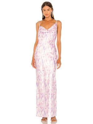 Фиолетовое платье с подкладкой Michael Costello