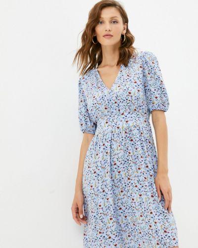 Прямое платье - голубое Vittoria Vicci