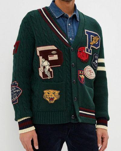 Зеленый кардиган Polo Ralph Lauren