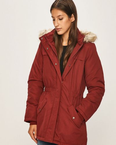 Куртка с капюшоном с карманами утепленная Jacqueline De Yong