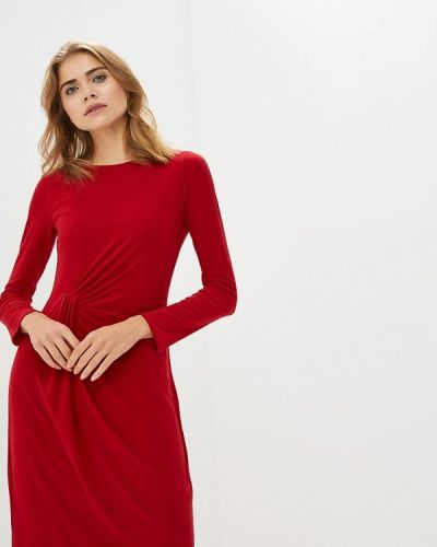 Повседневное платье осеннее красный Wallis