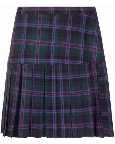 Зеленая шерстяная юбка Vivienne Westwood