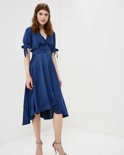 Синее платье Lost Ink.