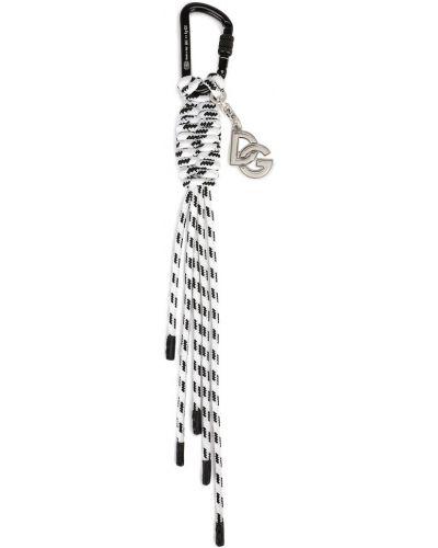 Biały brelok Dolce And Gabbana
