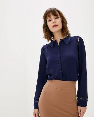 Блузка с длинным рукавом синяя Art Love