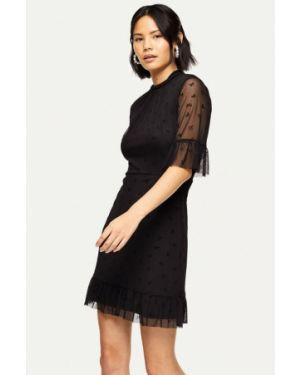 Вечернее платье осеннее черное Miss Selfridge