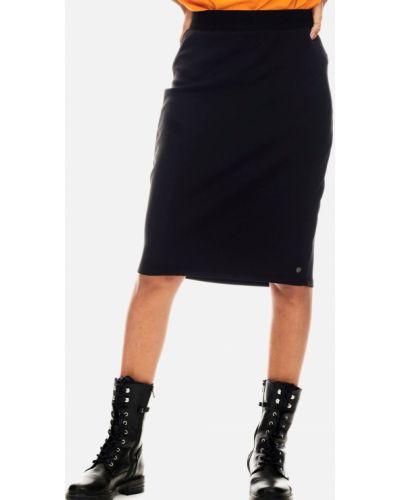 Джинсовая юбка - черная Garcia Jeans