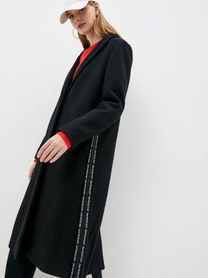 Пальто - черное Love Moschino