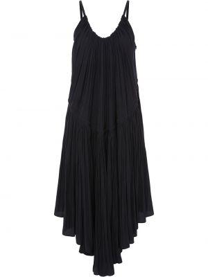 Платье с оборками - черное Jw Anderson