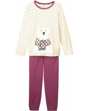 Бежевая пижама с принтом Bonprix