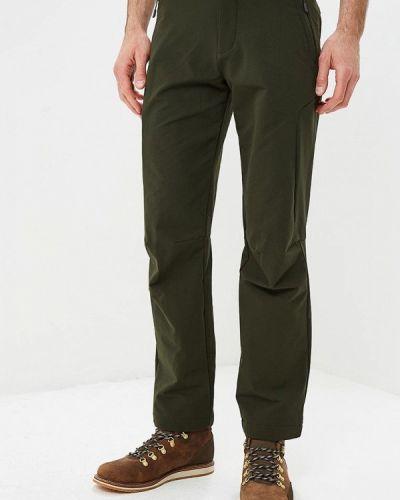 Зеленые брюки утепленные Jack Wolfskin