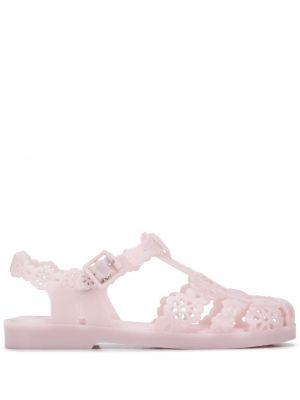 С ремешком розовые сандалии Viktor & Rolf