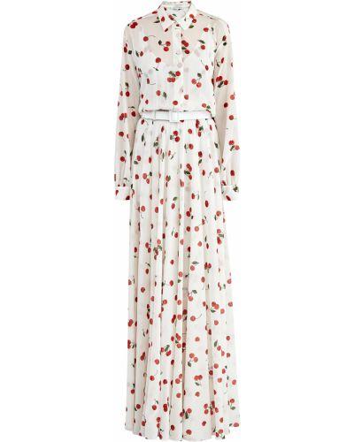Платье макси платье-комбинация на пуговицах Alexander Terekhov