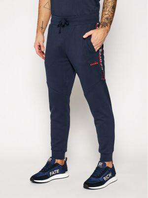 Spodnie dresowe - granatowe Diadora
