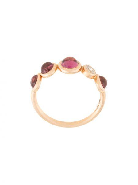Pierścień różowy ze złota Myrto Anastasopoulou