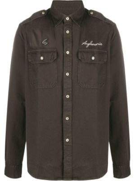 Koszula z długim rękawem klasyczna z logo Vivienne Westwood Anglomania