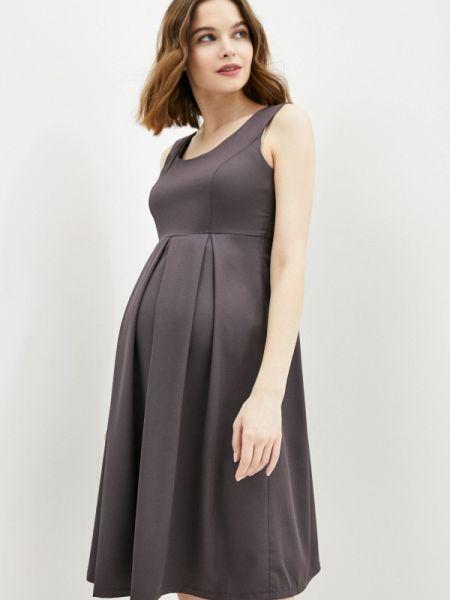 Платье - серое 9месяцев 9дней