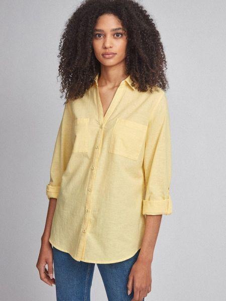 Рубашка с длинным рукавом желтый Dorothy Perkins